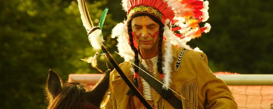 Indianerhäuptling Ronné