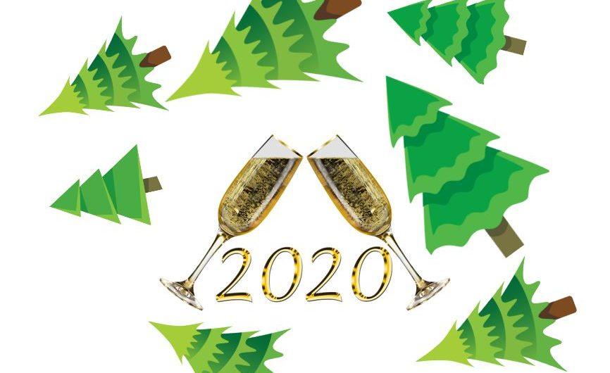 Neujahrsempfang und Baumweitwurf